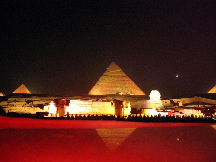 Sound ana Light Show of The Pyramids