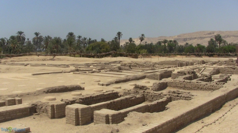 Tell El Amarna at Minya, Egypt
