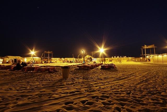 Campingplatz in Abu Dhabi