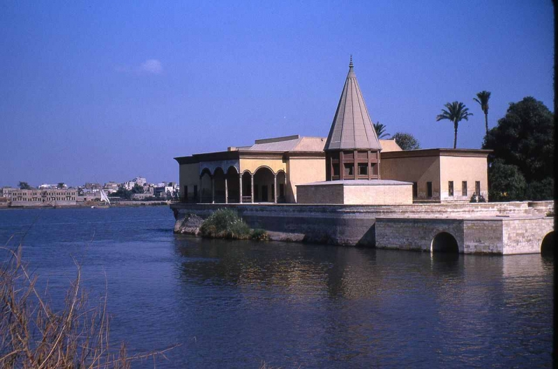 The Nilometer in Cairo