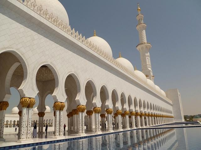 Mosquée Sheikh Zayed, Abu Dhabi