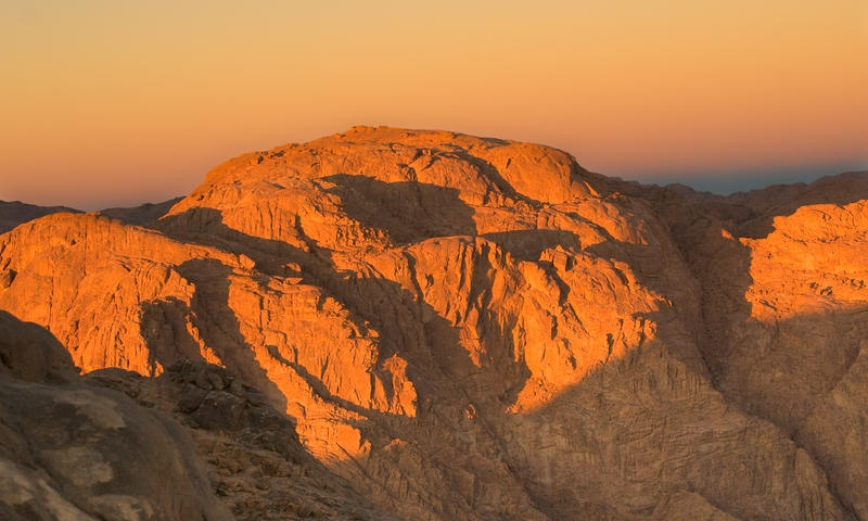 Top of Mount Moses at Sunrise, Sinai