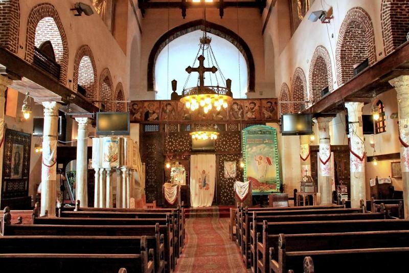 The church of Saint Barbara in Egypt | Saint Barbara ...