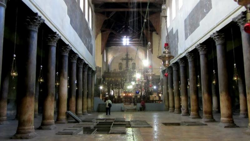 La Basilica della Natività, Betlemme