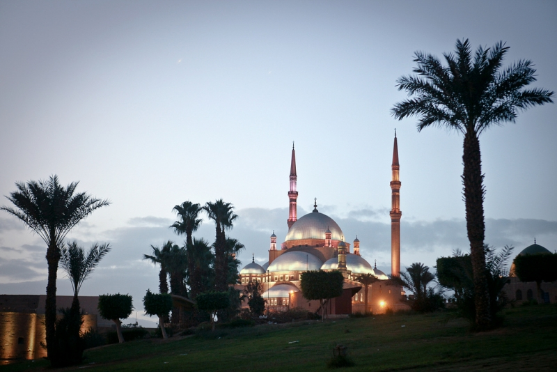Mohamed Ali Mosque inside the Citadel of Saladin