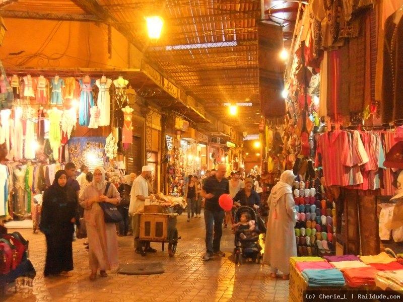 Tetouan - Marrocos - souk
