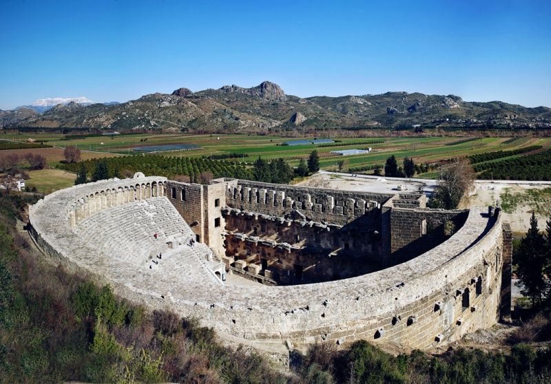 Aspendos of Turkey
