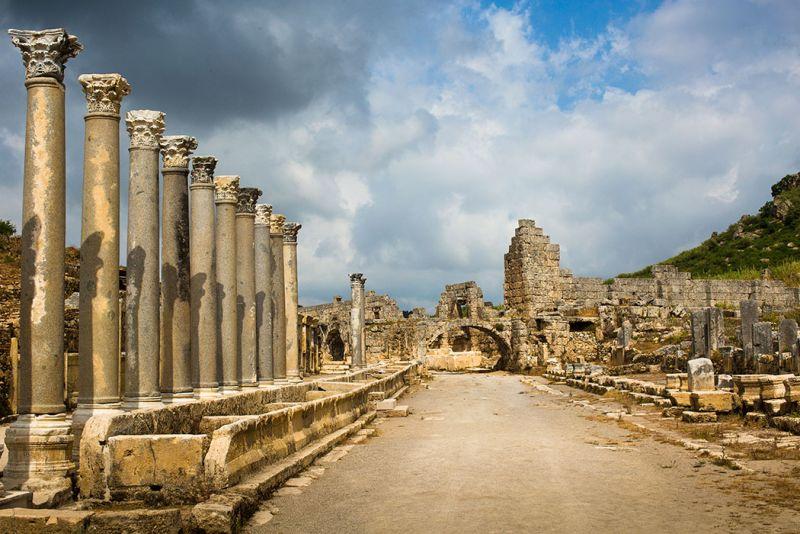 Antalya Archaeological Museum of Turkey