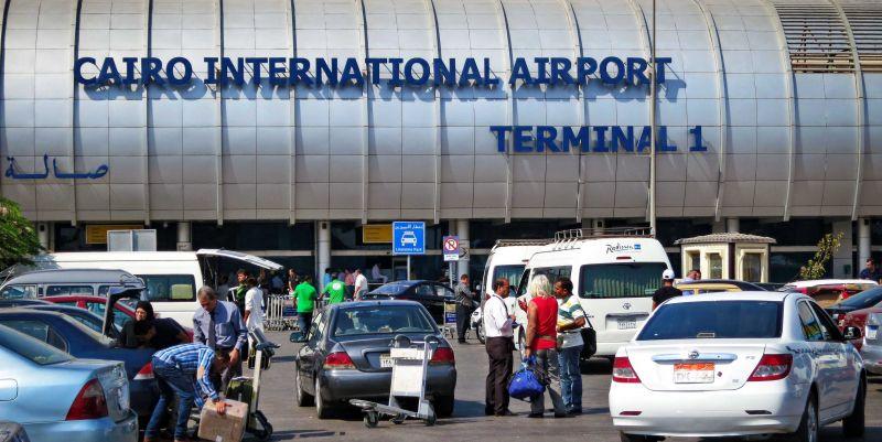 Procedimiento al Llegada al Aeropuerto Internacional de El Cairo