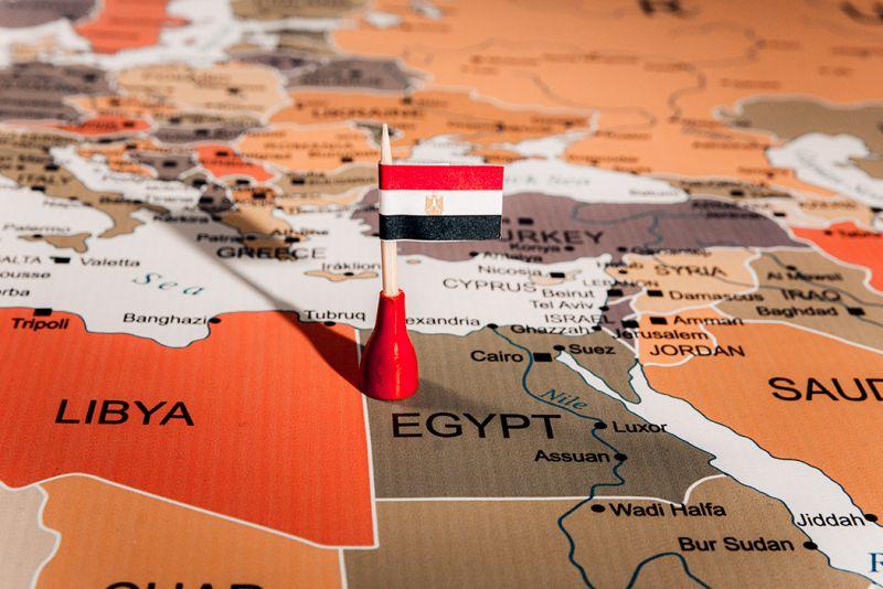 ¿En Qué Continente Está Egipto?
