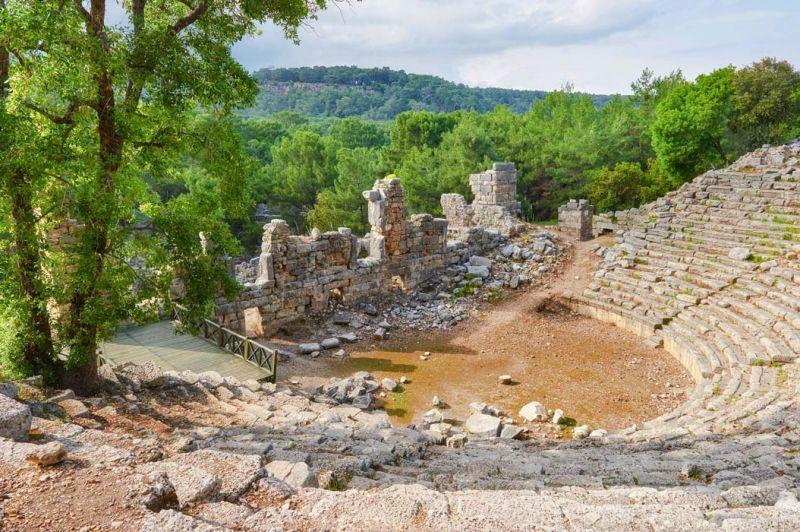 Troia Historic Site of Turkey