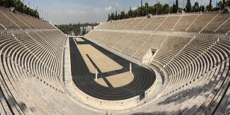 O Estádio Panatenaico de Atenas: Estádio Panathinaiko