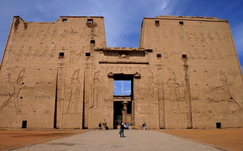 El Templo de Horus, Edfu