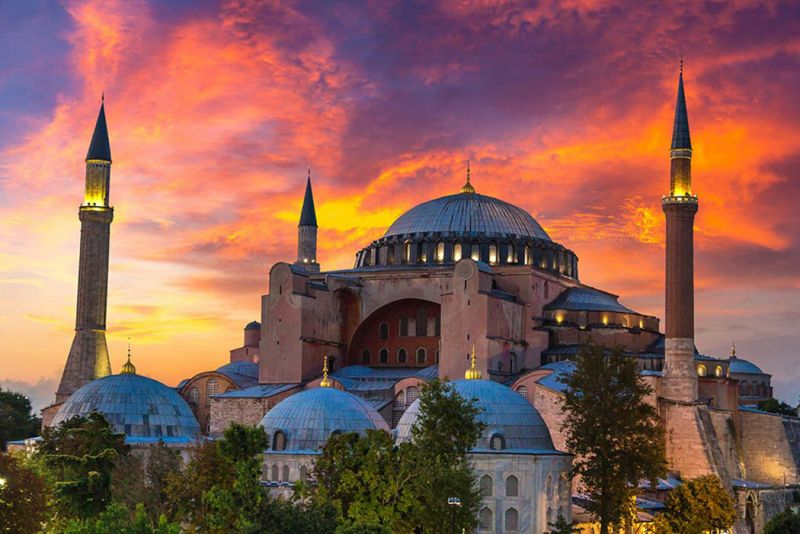 The Hagia Sophia Cathedral