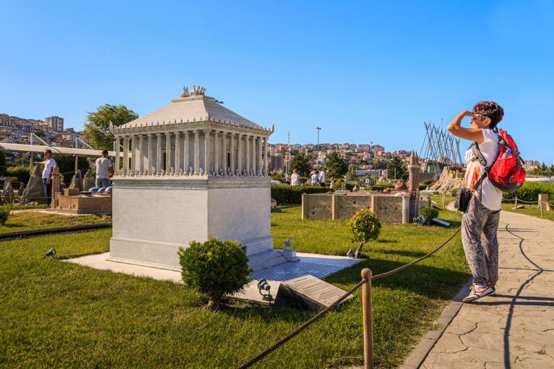 Mausoleum at Halicarnassus (Tomb of Mausolus) of Turkey