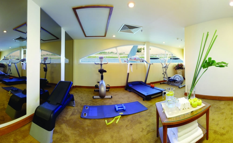 MS Mövenpick Royal Lotus Nilschiff Fitness-Studio