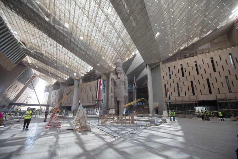New Grand Egyptian museum