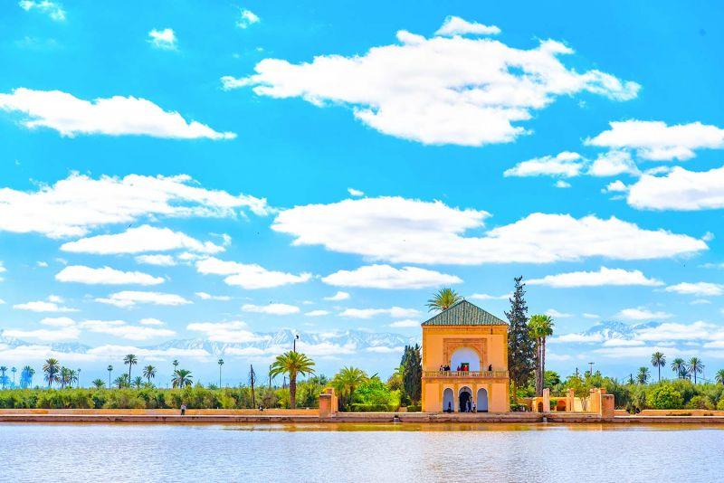 The Menara Gardens in Marrakech