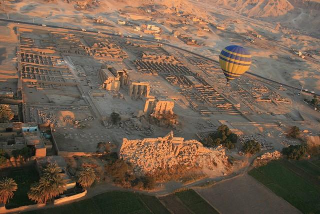 Globo en Luxor