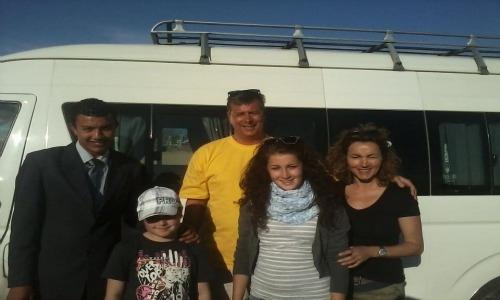 Transfert de l'aéroport d'Hurghada