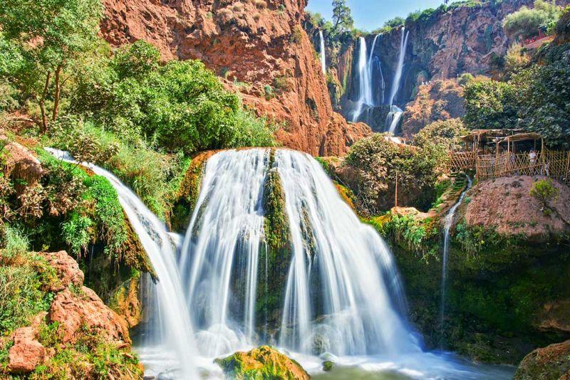 The Ouzoud Falls - Cascades d'Ouzoud