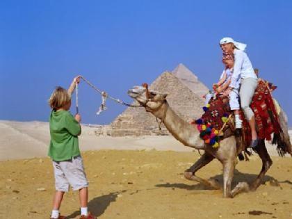 Paseo en camello por las Pirámides