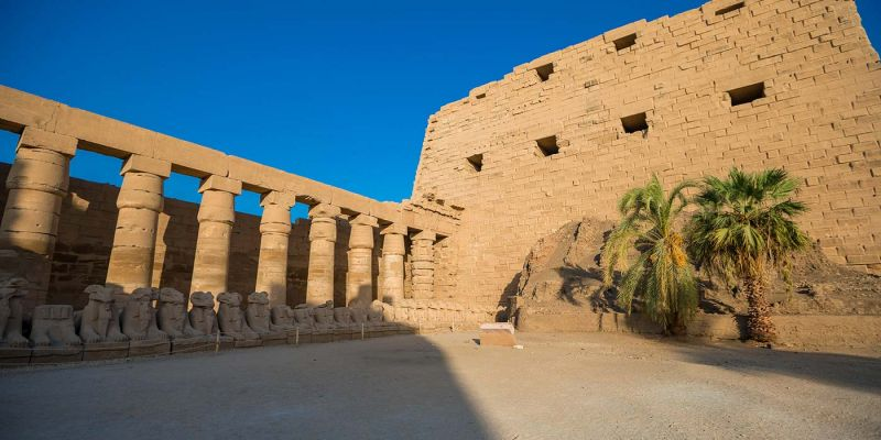 Karnak Temple in Luxor Egypt