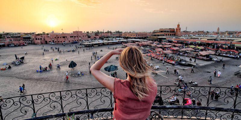 Marrakech - A cidade marroquina