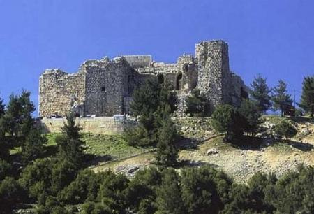 イスラムの城、ヨルダン