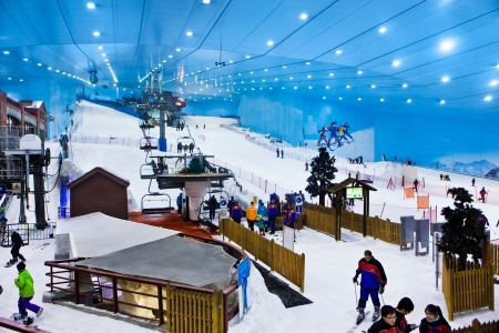 Sciare allo Ski Dubai
