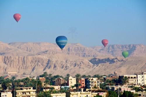 Hot Air Balloon Adventure in Luxor