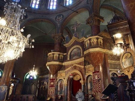 Inside the Hanging Church, Cairo