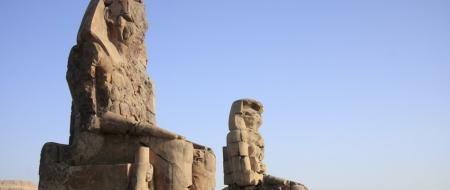 Los Colosos de Memnón, Luxor