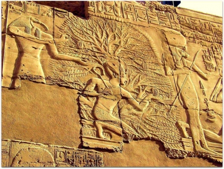 Tree of Life at Karnak Temples, Luxor