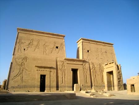 Tempio di Iside, Isola di File