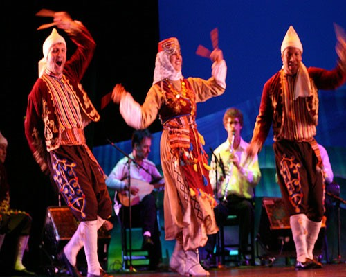 Turkish Oriental Show during The Dinner Night in Red Sea