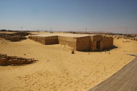 El Templo de Ain El Mefftela, Bahariya