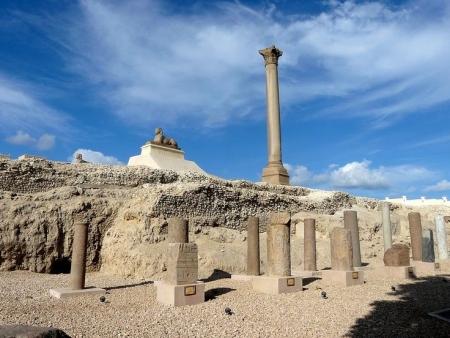 Pilar de Pompeia, Alexandria