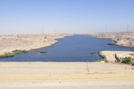 The High Dam in Aswan