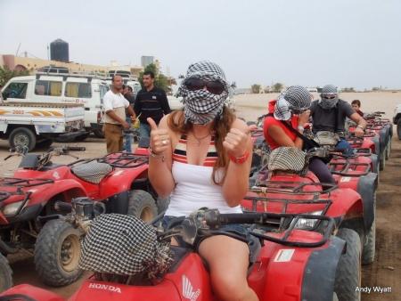 Desert Safari in Sharm by Quad Bike
