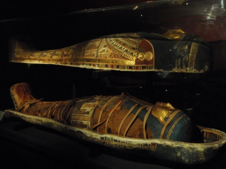 Queen's Mummy at the Greco-Roman Museum