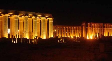 Spettacolo Suoni e Luci a Karnak