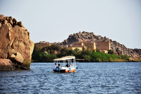 The Philae Temple at Aswan
