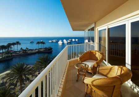 Marriott Beach Resort Room`s Balcony