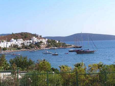 Panoramic View of Bodrum