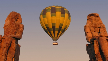 Amazing Hot Air Balloon Ride Trip in Luxor