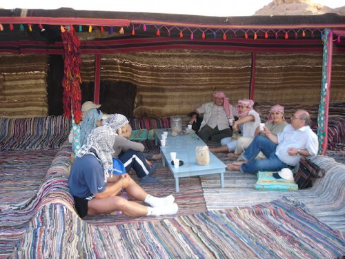 Inside a Bedouin Village in Sinai Desert