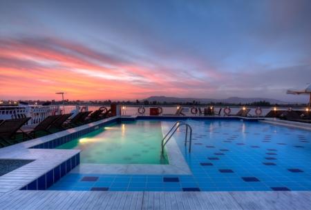 Steigenberger Minerva Nile cruise Pool