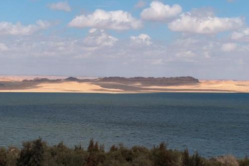 Lake Qarun, El Fayoum Oasis