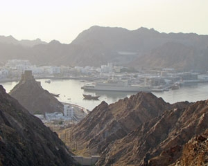 Port View in Oman